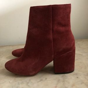 Urban Outfitters suede boots
